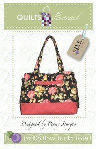 Quiltsillustrated Bow Tucks Tote QI-008 by Quilts Illustrated, http://www.amazon.com/dp/B001B7F4LG/ref=cm_sw_r_pi_dp_sW6Wpb0HXCWTK Cant wait to start this!
