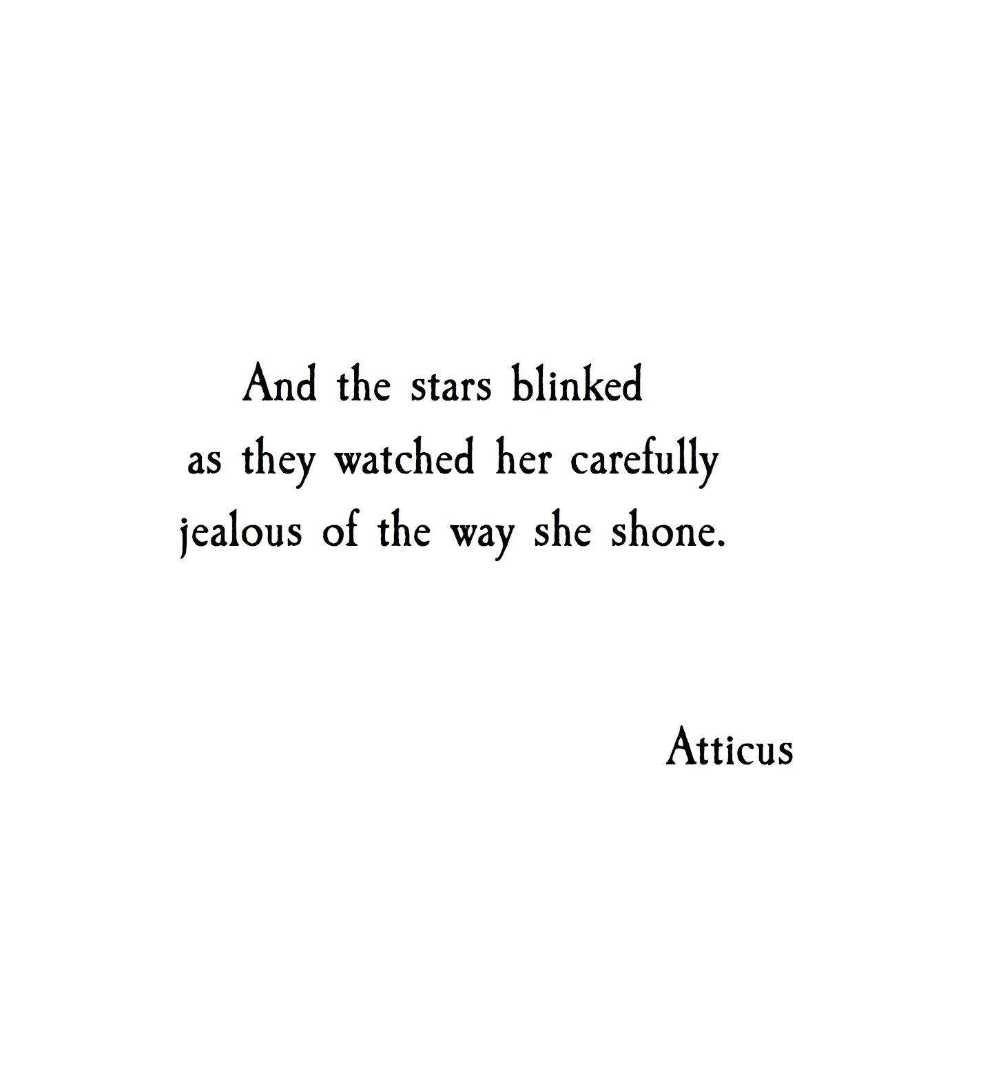 Real Life Poems Quotes Atticus Poetry On  Poem Poem Quotes And Star