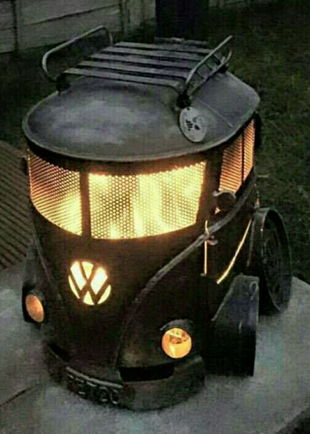 Feuerkorb Vw Bus Pin On Vw Wv Nh Bus Peace Sign Grill Log Burner