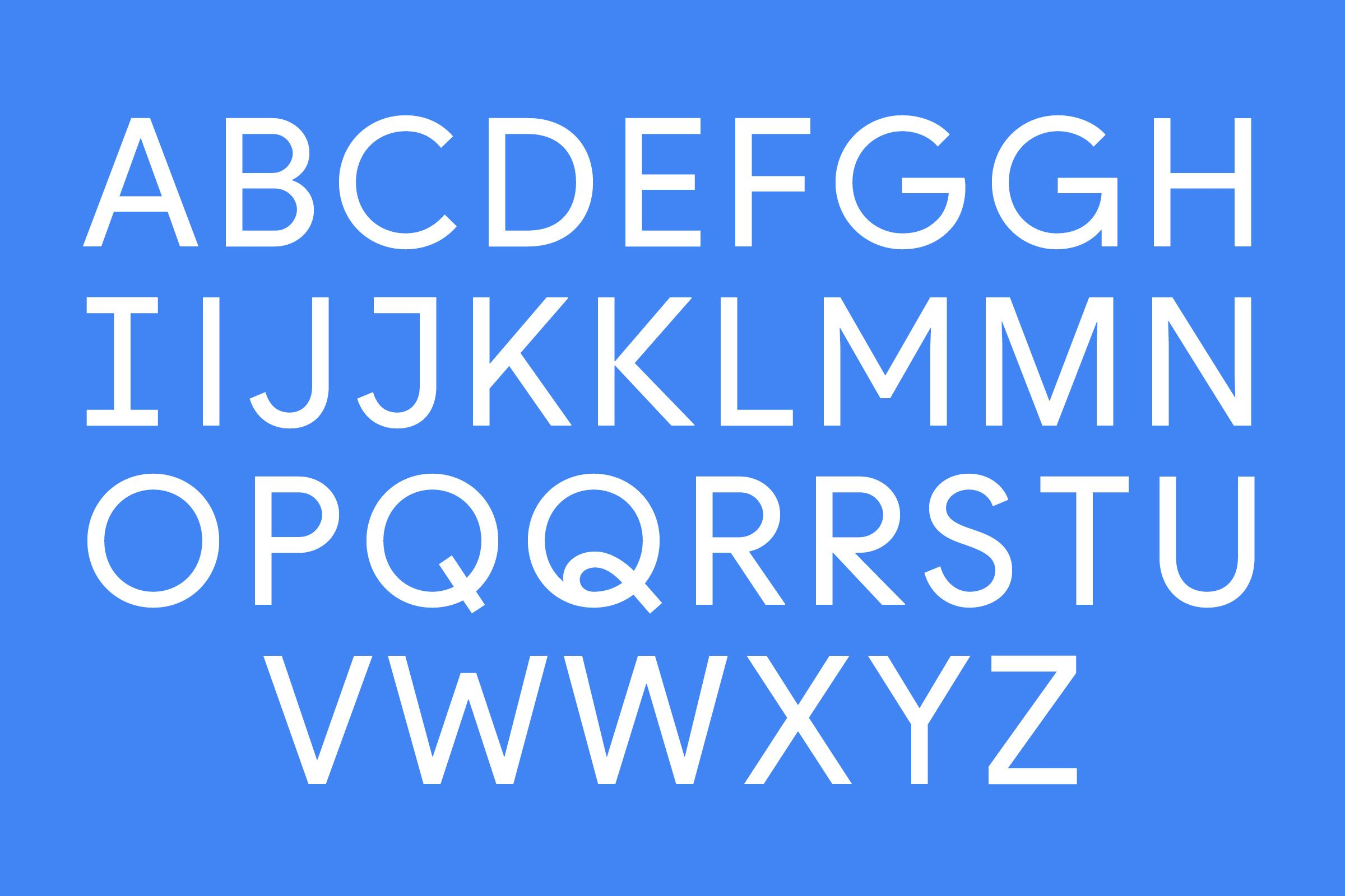 PRODUCT SANS TYPEFACE typography Visual identity