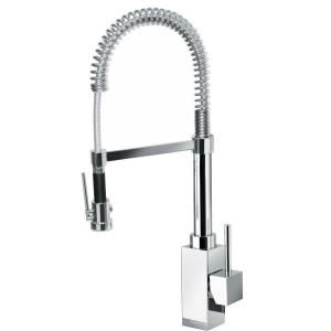 Latoscana Dax Single Handle Pull Down Sprayer Kitchen Faucet
