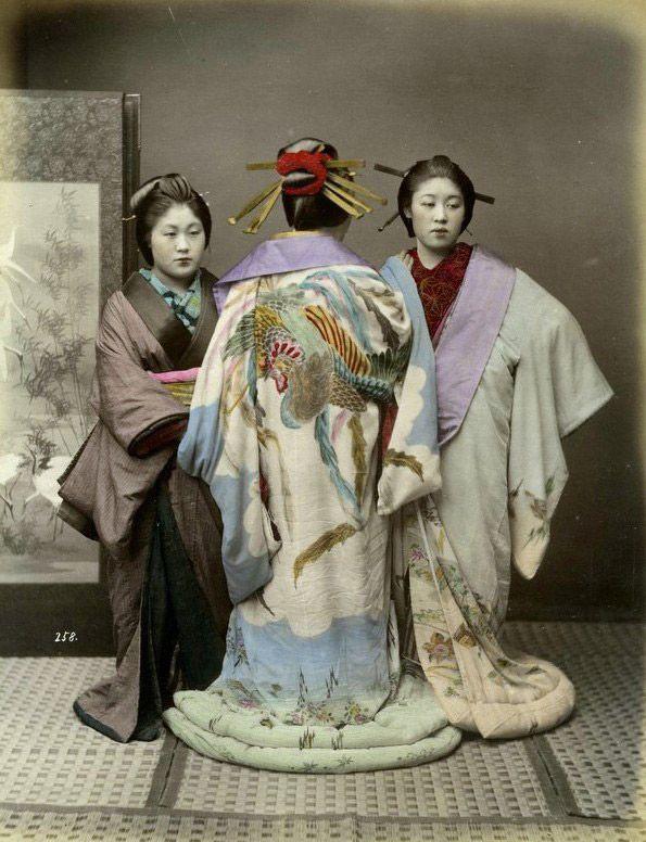 Girls in Japanese