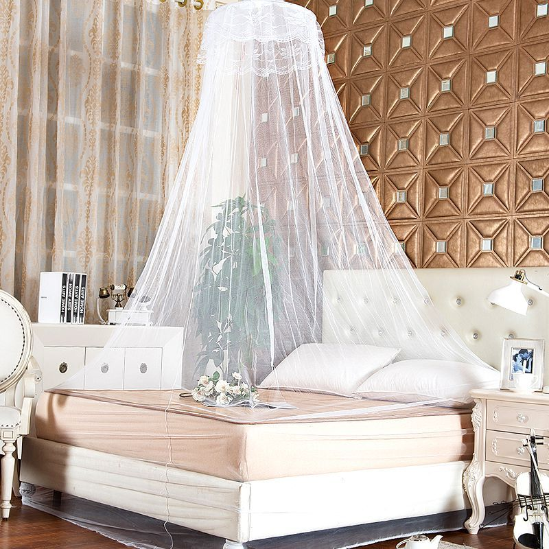 Newest 1pc Round Lace Insect Bed Valance Canopy Netting Curtain Palace Dome Lace Hanging Mosquito Nets & Newest 1pc Round Lace Insect Bed Valance Canopy Netting Curtain ...