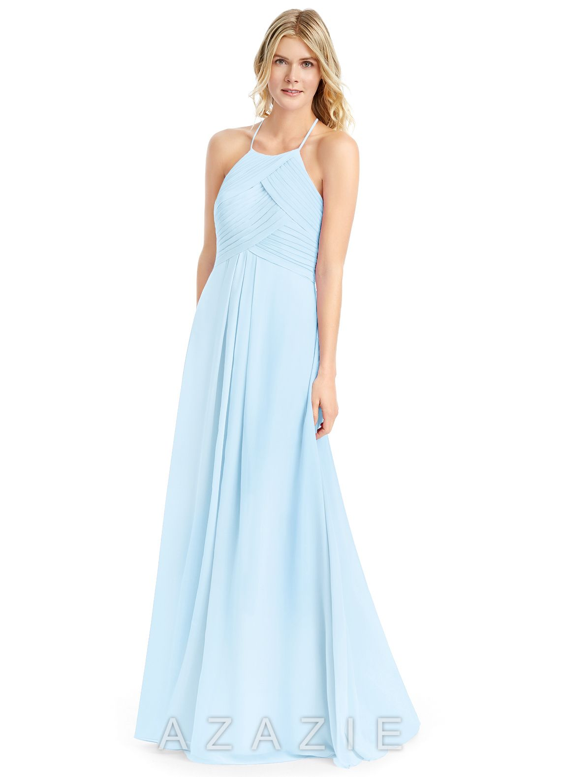 aad2200936 Shop Azazie Bridesmaid Dress - Ginger in Chiffon. Find the perfect  made-to-order bridesmaid dresses for your bridal party in your favorite  color