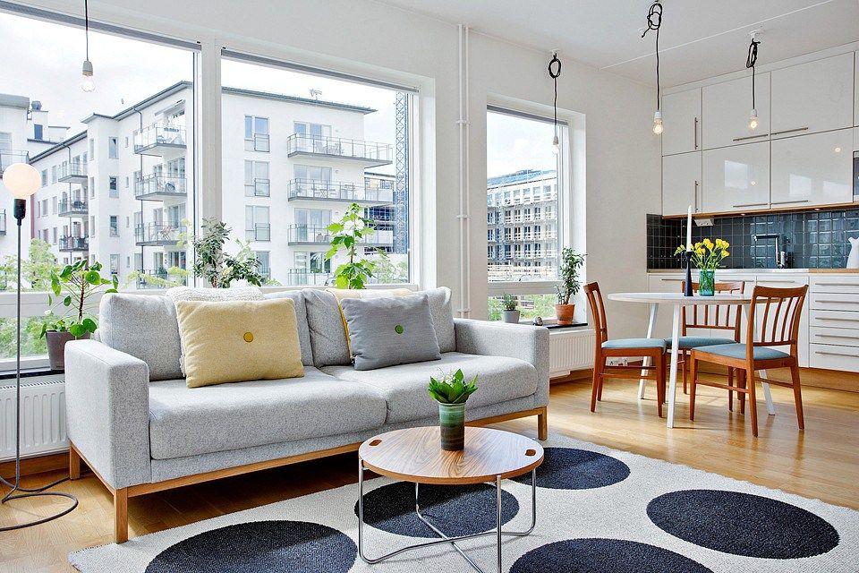 42 m² con mucho espacio de movimiento y de almacenamiento ...