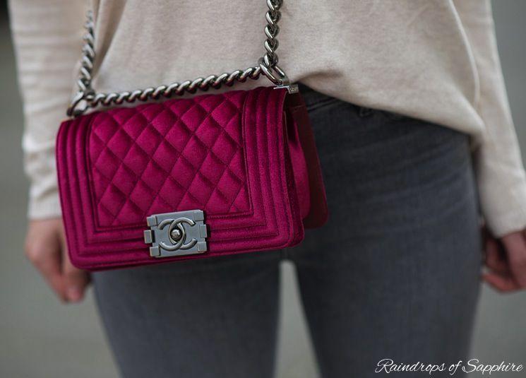 4a8cddba4439 chanel-velvet-boy-bag – Raindrops of Sapphire | purses | Bags ...