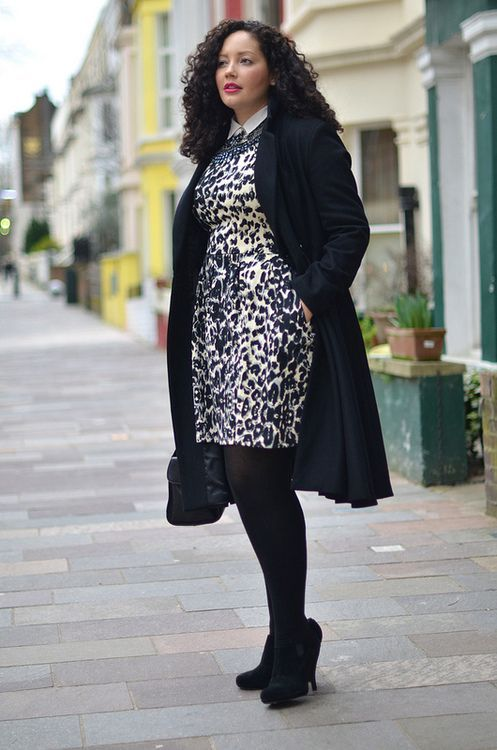 Be Comfy In Winter With Plus Size! | Curvy girl fashion ...