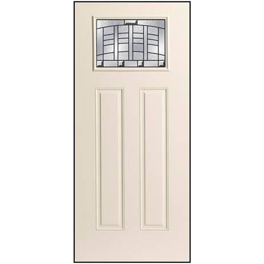 Shop Benchmark By Therma Tru 36 In Decorative Inswing Entry Door At