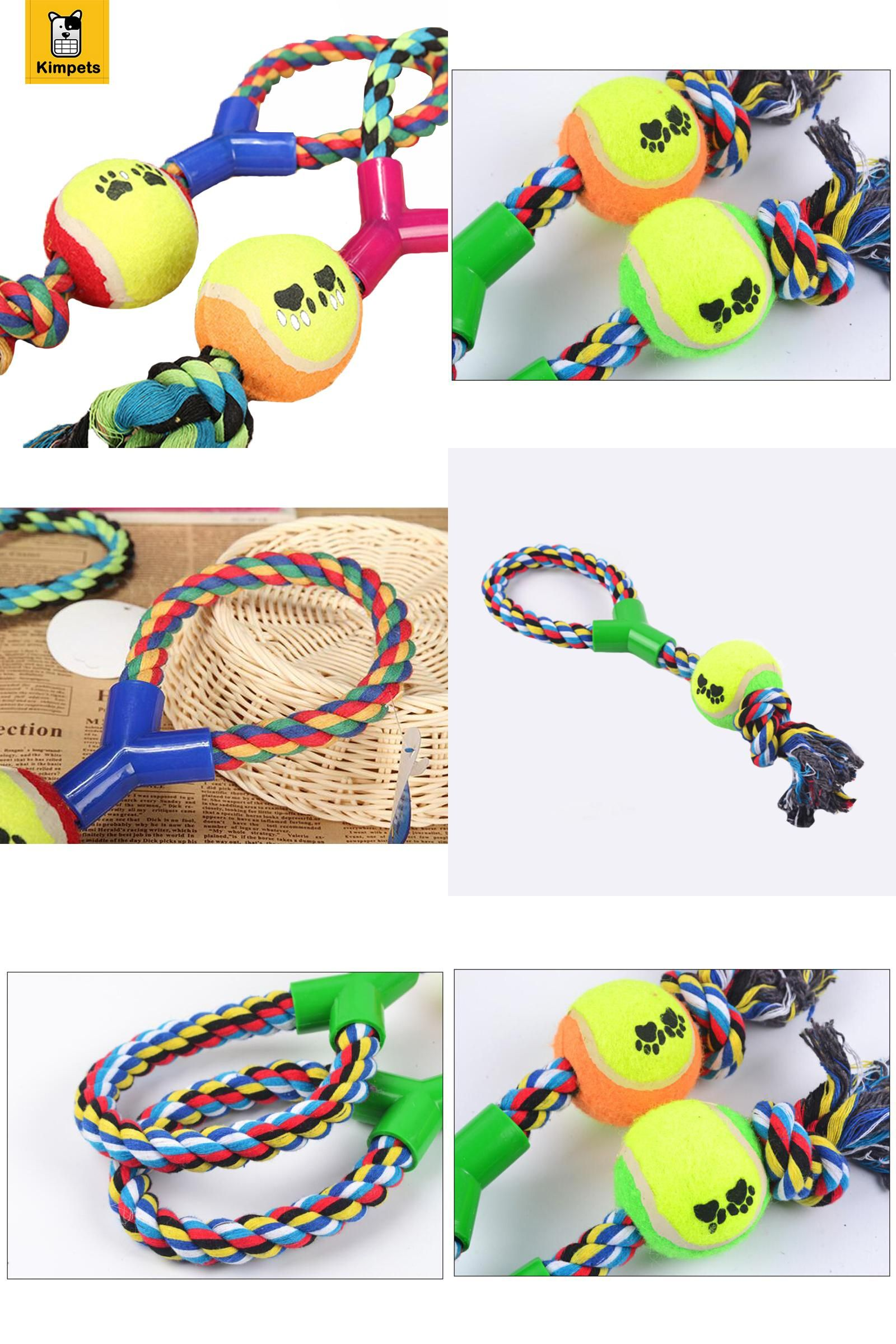 Visit to Buy] Best Chewing Toys for Dogs Ball with Rope Dog Toy