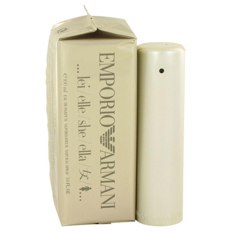 Emballage Couleur Dorée Armani Parfum Elle Pour Bonbon Emporio 4ALjqc35R