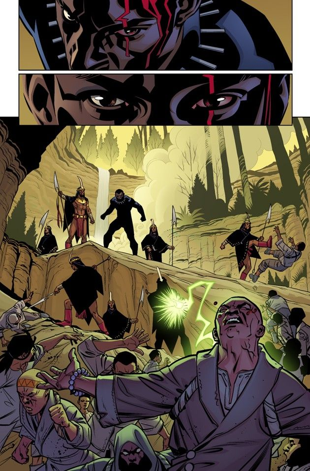 """All the blogging from Ta-Nehisi Coates and others related to his forthcoming """"Black Panther"""" Marvel series."""