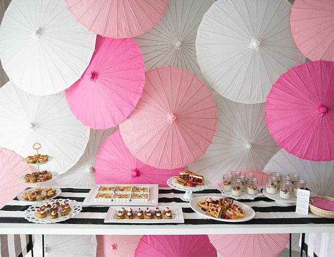 Black And Pink Baby Shower Part - 27: Black, White, And PInk XOXO Baby Shower