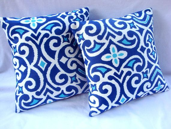Indoor Outdoor 16x16 Set Of Two Pillow Covers With Images