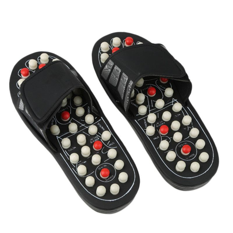 21e75f504ce1 ... effective and good for health. Massage Slippers Sandal Feet Chinese  Acupressure Acupuncture Therapy Medica Hot Selling DYY1216