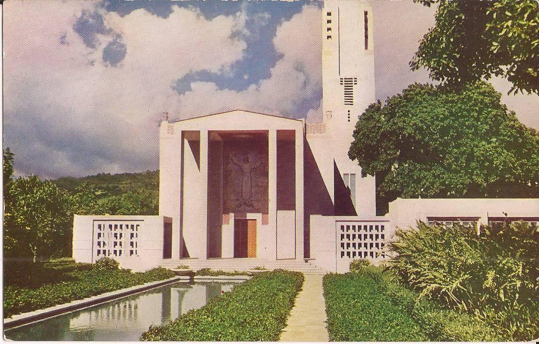 Mormon Tabernacle Honolulu Christmas Concert 2020 VINTAGE POSTCARD: Honolulu, HAWAII   Mormon Tabernacle in 2020