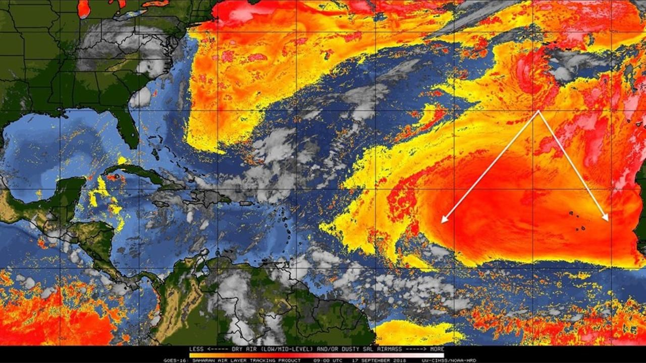 After Florence Tropical Atlantic Basin Calms Down But Hurricane Season Is Far From Over Hurricane Season Tropical Jesus Is Coming