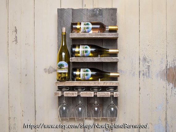 Botellero Botelleros Montados Unicos Copas De Vino Estante