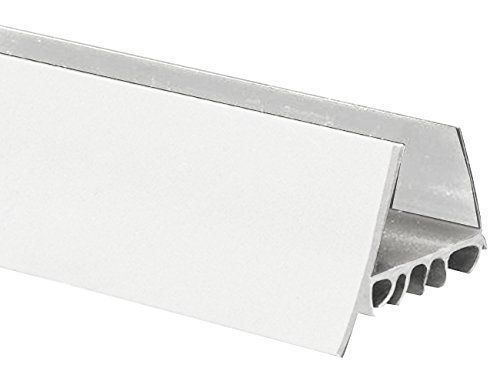 Frost King Udb77w Thermoplastic Slide On Door Bottom 1 3 4in Wide X 36in Long White Door Sweep Metal Door Hardware