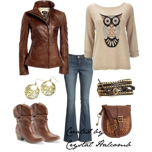 """""""Who gives a Hoot?"""" by crystal-g-halcomb on Polyvore"""