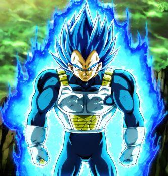 Vegeta Full Power By Naruto999 By Roker Dragon Ball