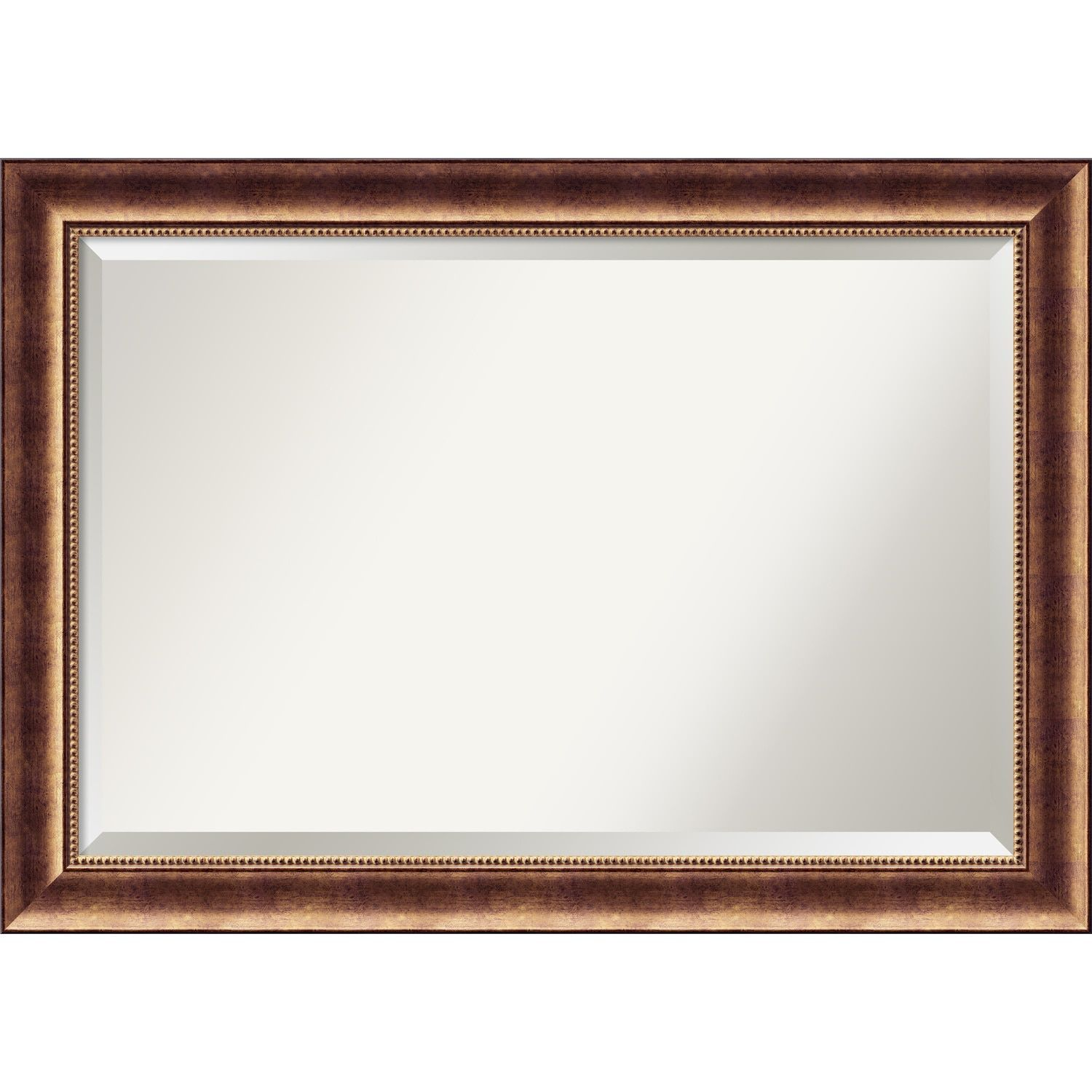 Bathroom mirror extra large fits standard 30 inch to 48 inch bathroom mirror extra large fits standard 30 inch to 48 inch cabinet manhattan bronze 42 x 30 inch by amanti art jeuxipadfo Image collections