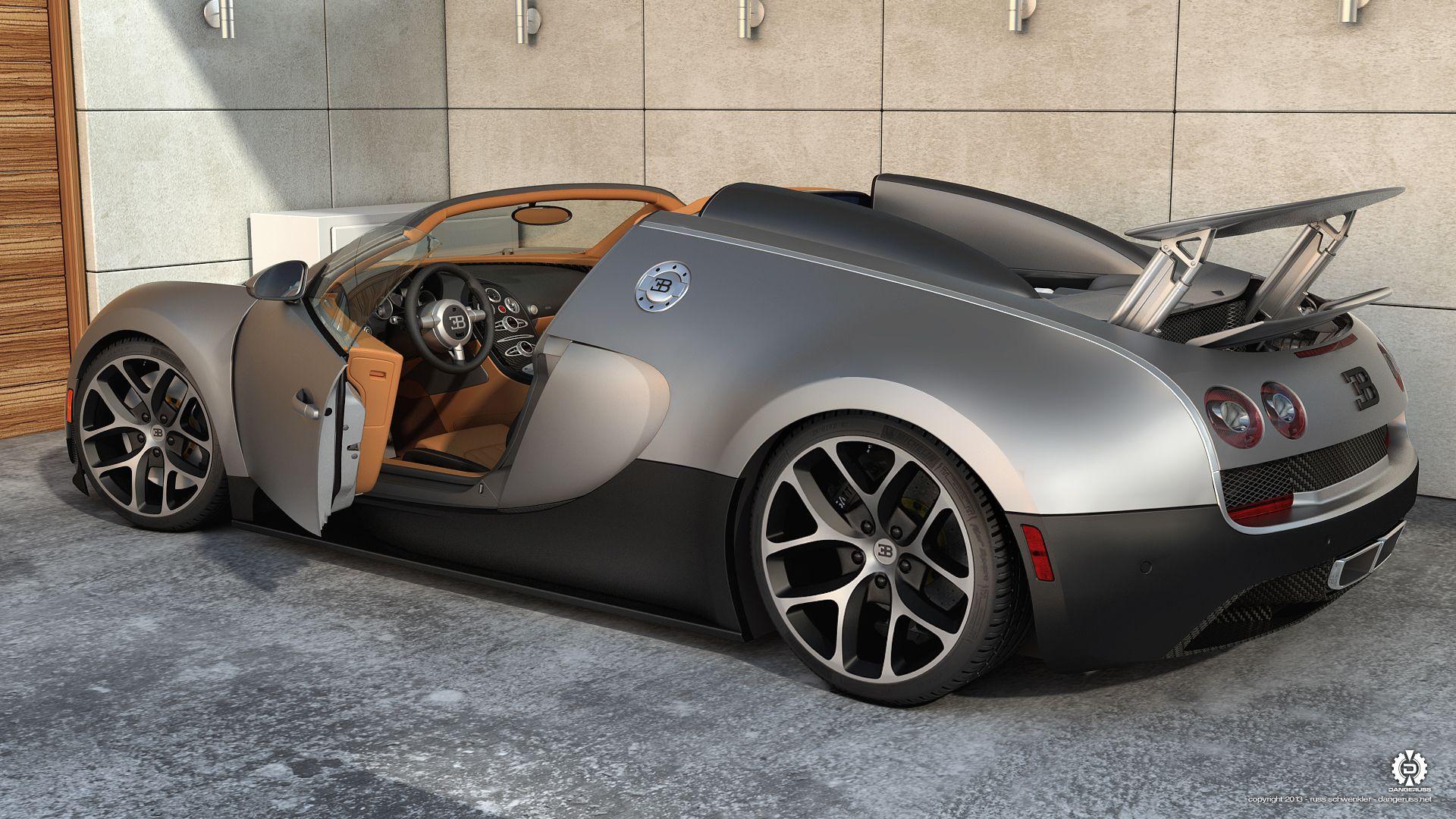 Bugatti Veyron Bugatti Veyron Grand Sport Vitesse Close Up By