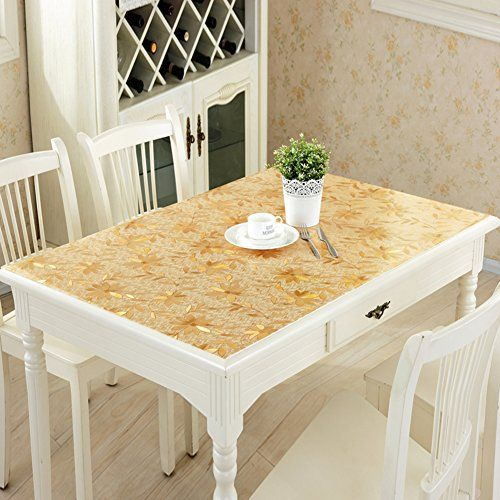 Pvc Table Cloth Waterproof And Anti Hot Mat Transpa Frosting Soft Gl Plastic Crystal Plate C 70x140cm 28x55inch