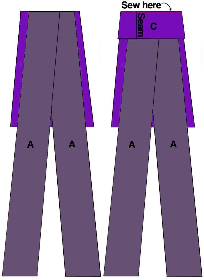 DIY Infinity Maxi Dress Details | Diagram, Infinity and Diy clothes