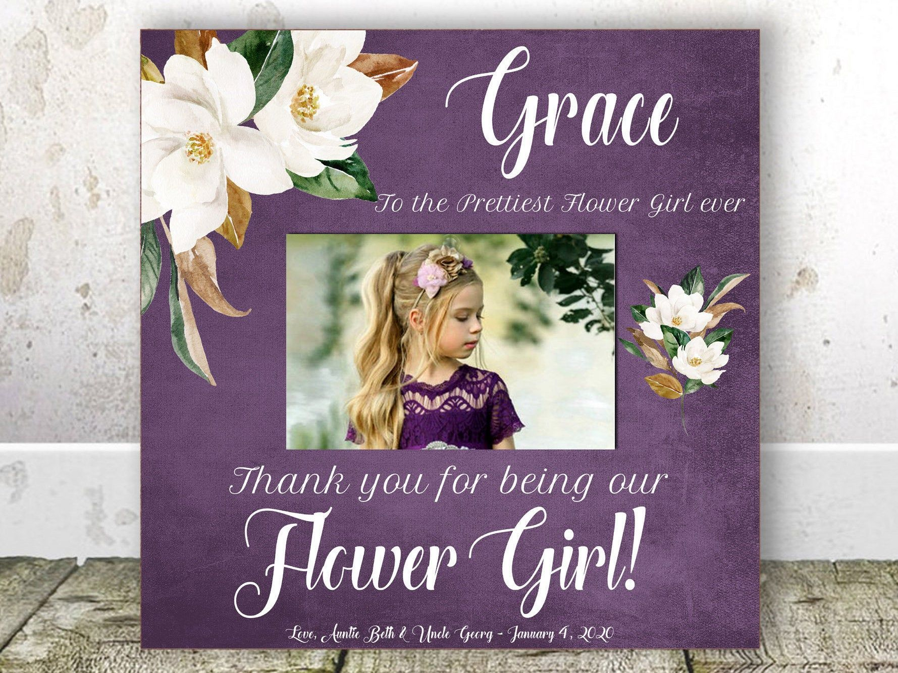 Flower Girl Gift Wedding Gift Niece Wedding Gift Rehearsal Dinner
