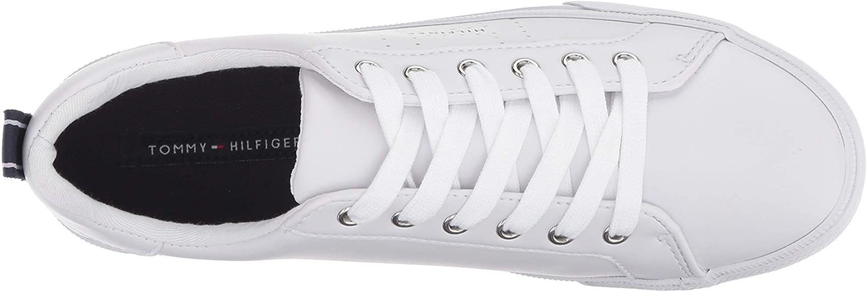Tommy Hilfiger Lelita Zapatillas Para Mujer Blanco 7 5 Shoes In 2020 Tommy Hilfiger Women Tommy Hilfiger Sneakers