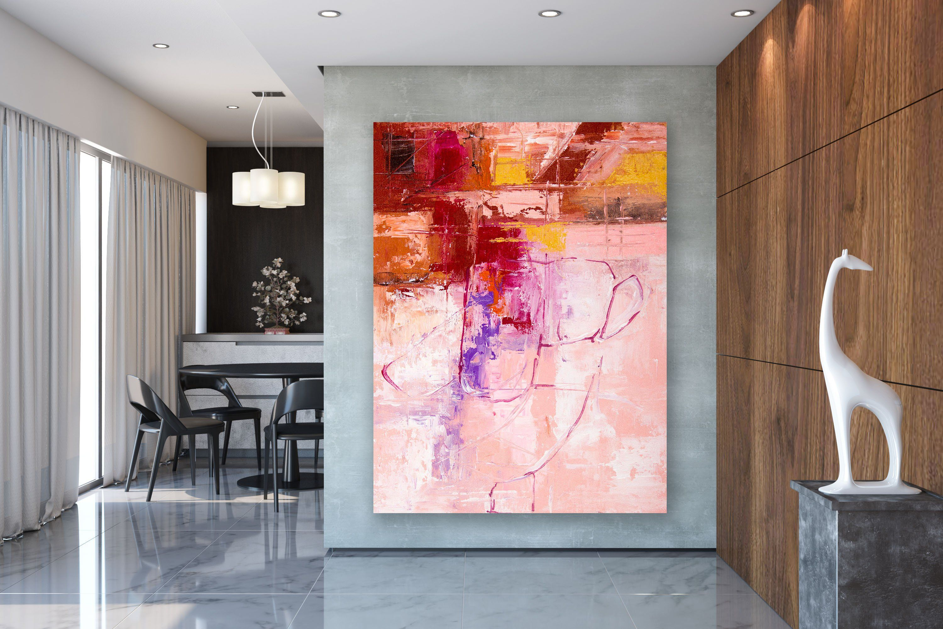 Large Abstract Wall Art Painting