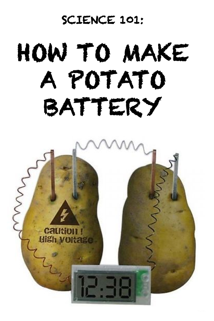 how to make a potato battery for kids