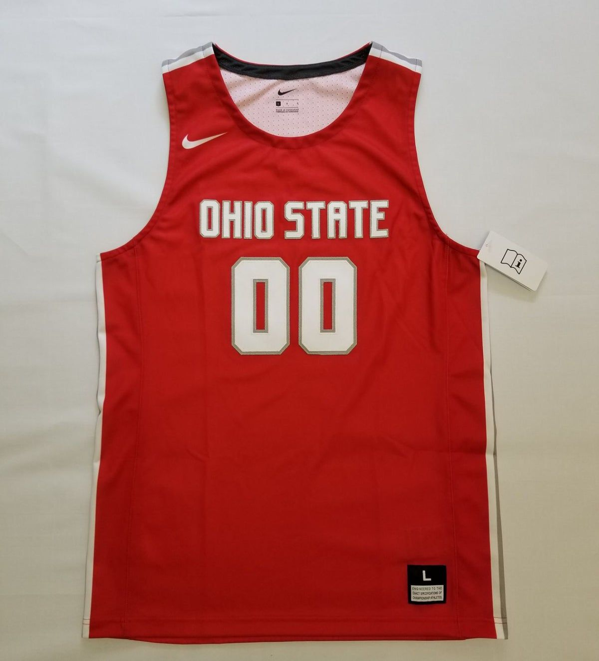 Ohio State Nike Basketball Jersey.
