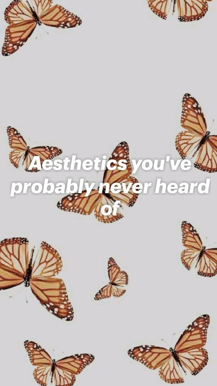 Aesthetics you've probably never heard of