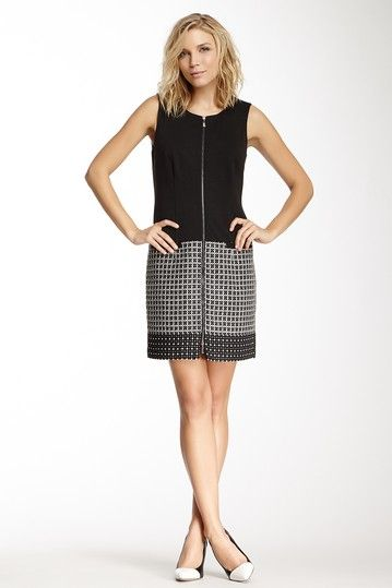 Laundry Sleeveless Boucle Ponte Dress by Non Specific on @HauteLook