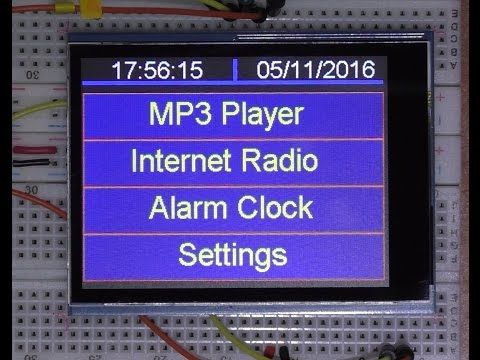 IOT Arduino project ( Teensy 3 6 ) Internet radio and MP3 player