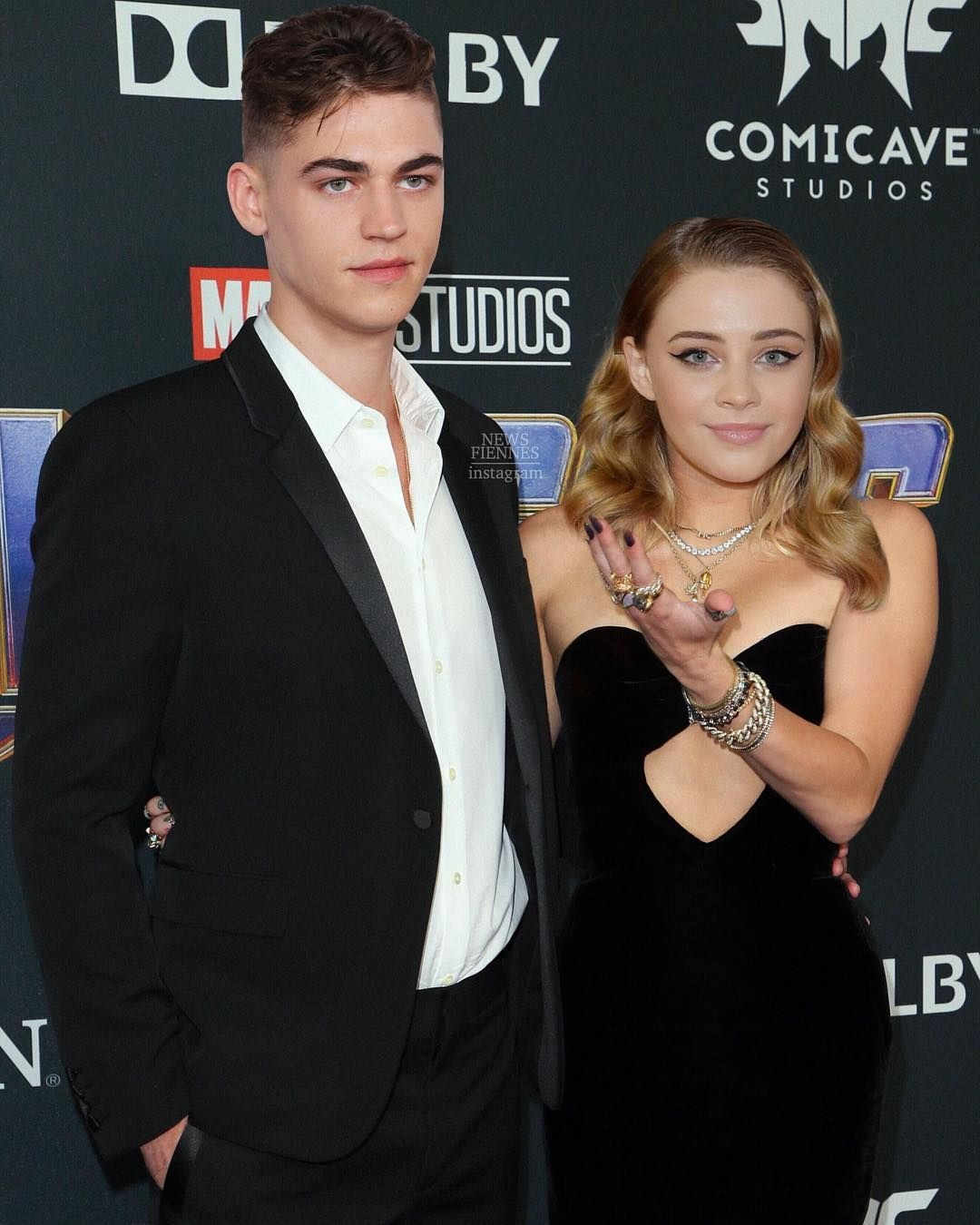 """Hero Fiennes-tiffin Couple : fiennes-tiffin, couple, Fiennes-Tiffin, 🇪🇸, Instagram:, """"Hero, Fiennes, Girlfriend, Josephine, Langford,, Attended,"""