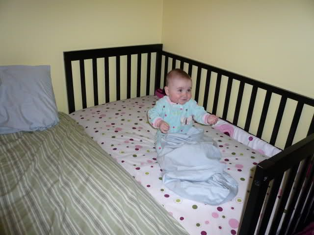 maverick crib diy sleeper sleeping week co update with mammy pregnancy ikea img