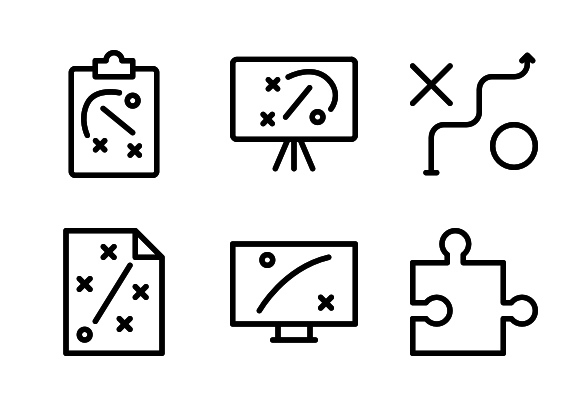 Strategy Icons By Mello Business Photos Strategies Icon