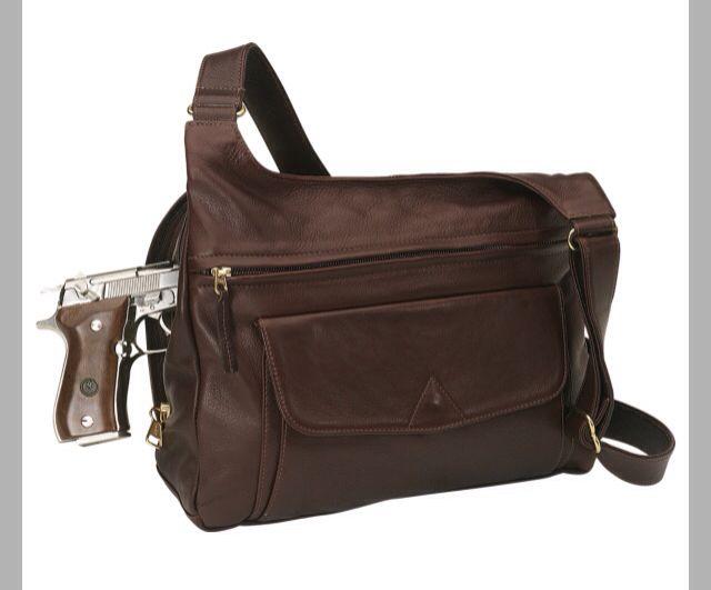 Coronado Concealed Carry Messenger Bag