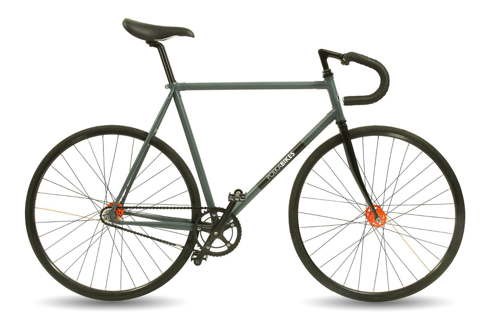 Polka Bikes Tornado 58 cm Lugged Frame High Quality Urban Single ...