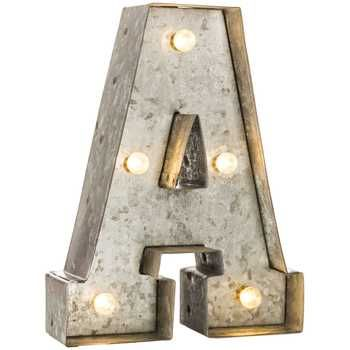 Silver Metal Letter W Hobby Lobby 1076975 Metal Letter Wall Decor Lighted Marquee Letters Metal Wall Letters