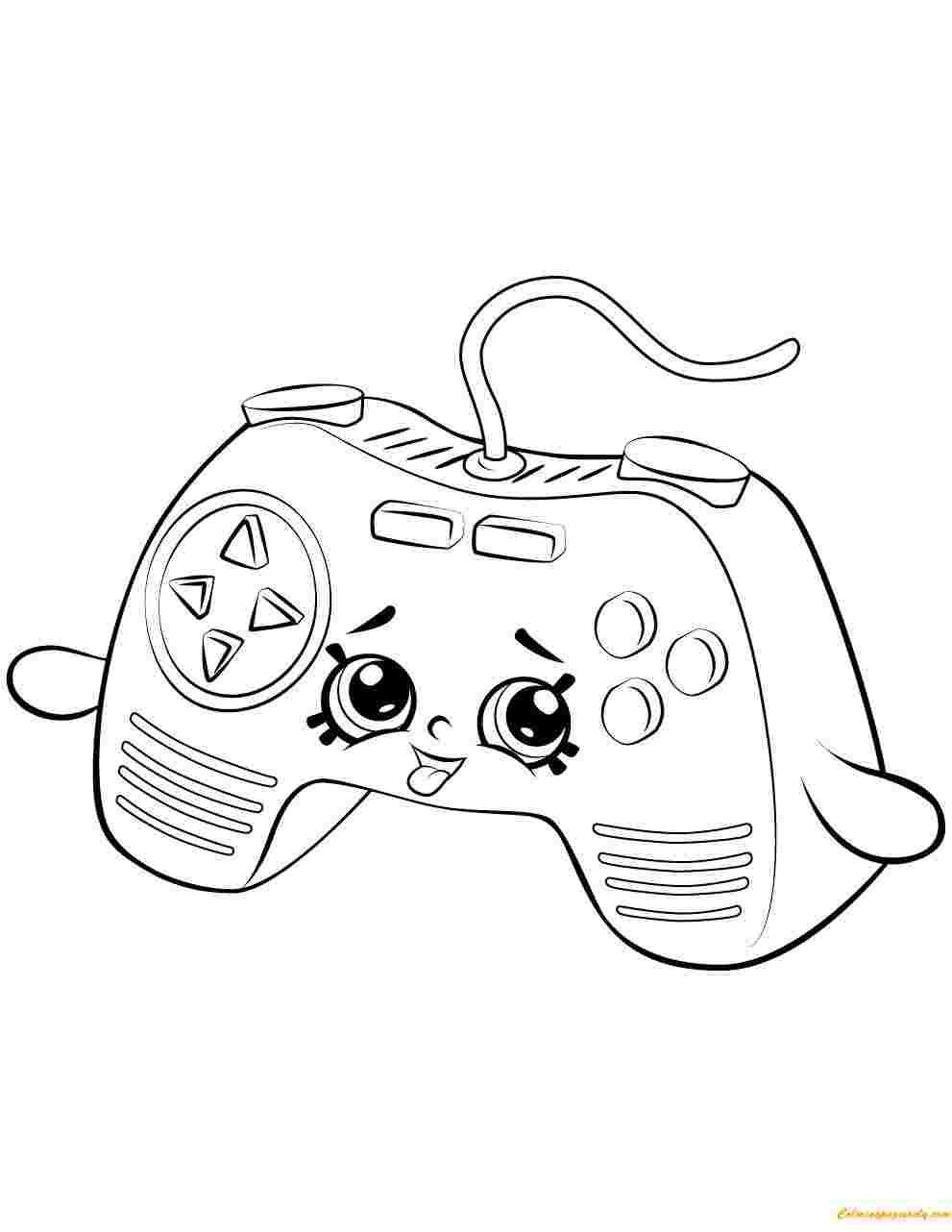18 Coloring Page Xbox Shopkins Colouring Pages Cute Coloring Pages Shopkin Coloring Pages