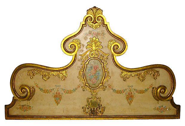 French Country   Headboard, Queen-Size on OneKingsLane.com
