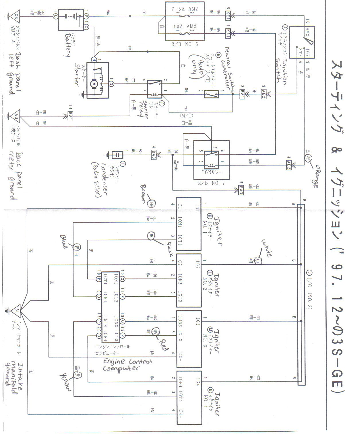Wrg 5324 3sgte Beam Ecu Wiring Diagram | Ecu, Beams, Cool pictures | Beams Wiring Diagram |  | Pinterest