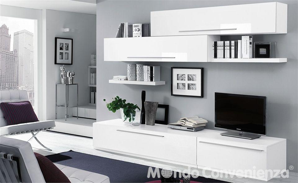 Soggiorno Skema  Mondo Convenienza  foto x casa  Arredamento moderno soggiorno Mobili