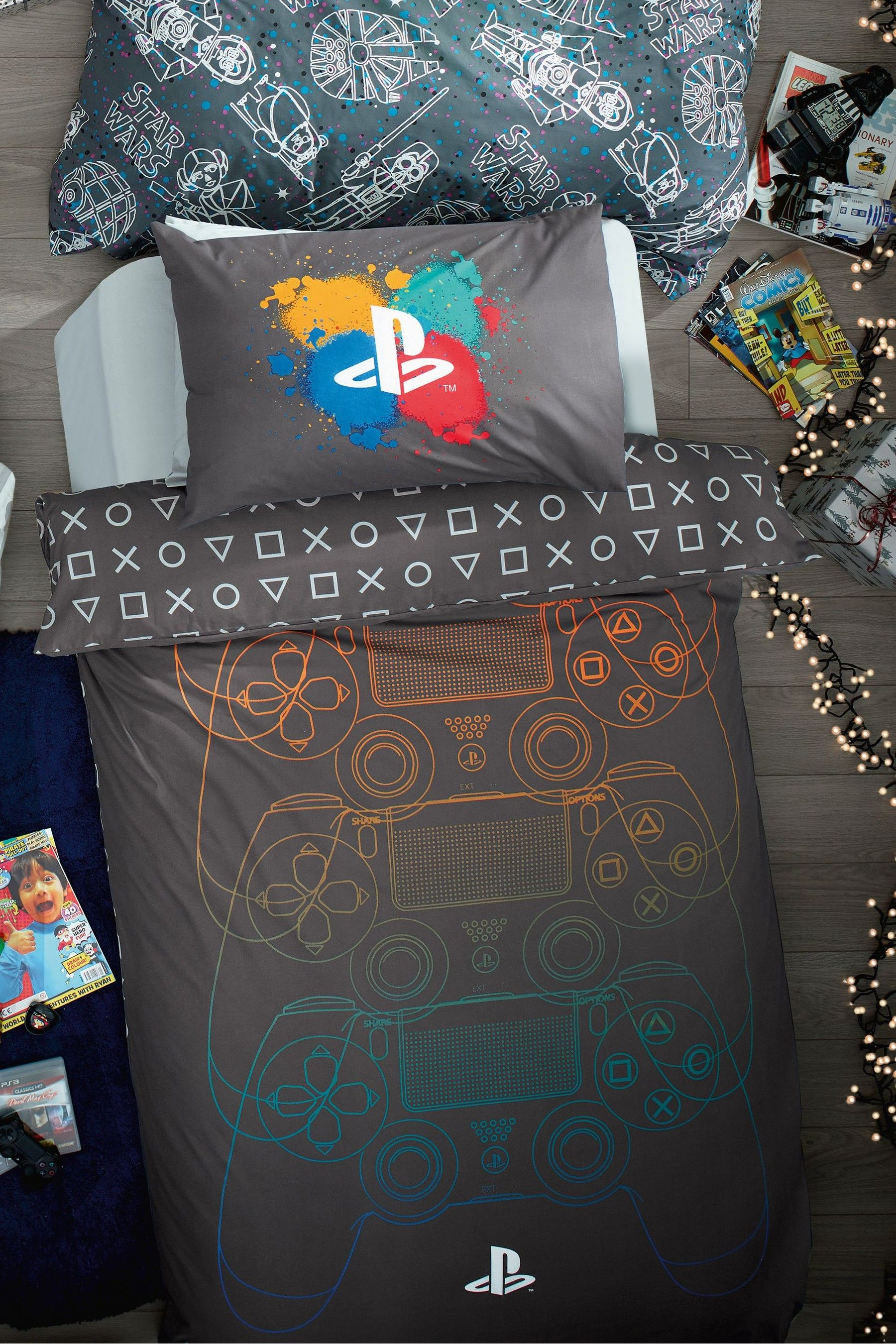 PlayStation Duvet Cover and Pillowcase