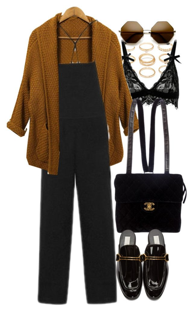 """""""New Chic 7"""" by nikka-phillips ❤ liked on Polyvore featuring Forever 21, ZeroUV, Chanel and STELLA McCARTNEY"""