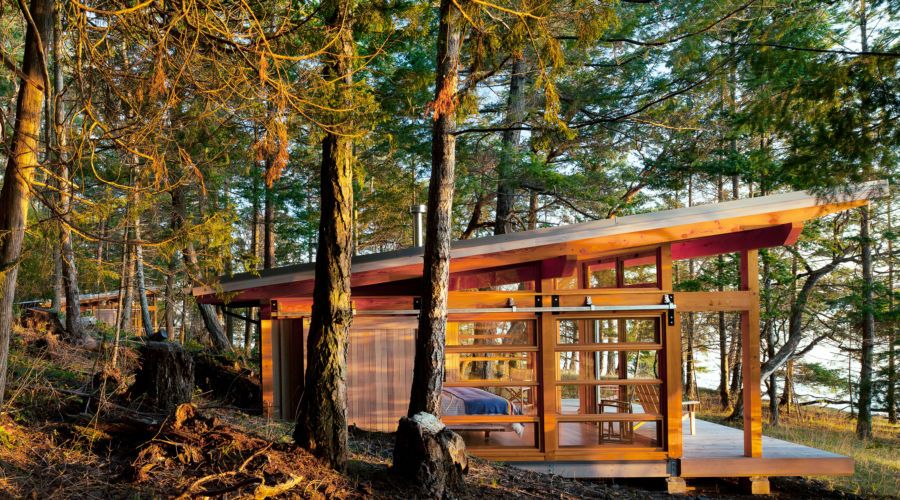 Gawk at these jawdropping cabin homes across the west