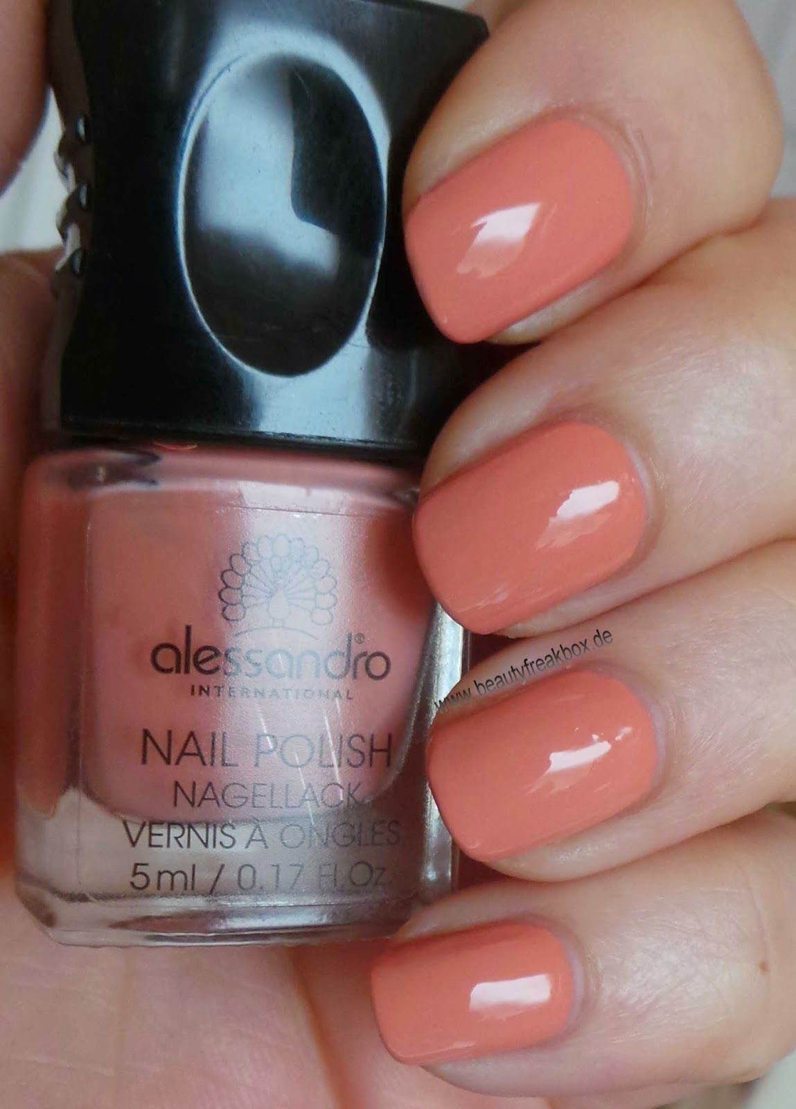 alessandro sunday rose nagellack apricot touch nails. Black Bedroom Furniture Sets. Home Design Ideas